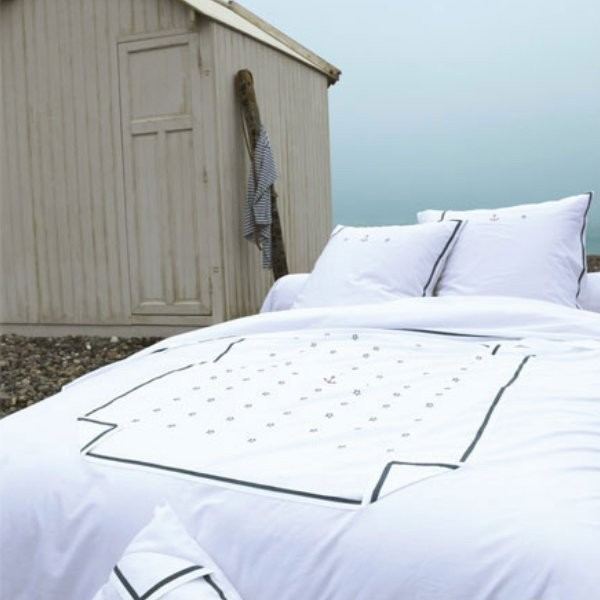 housse de couette la marine sylvie thiriez. Black Bedroom Furniture Sets. Home Design Ideas