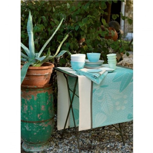 Serviette de table Empreintes vegetales curacao 58x58