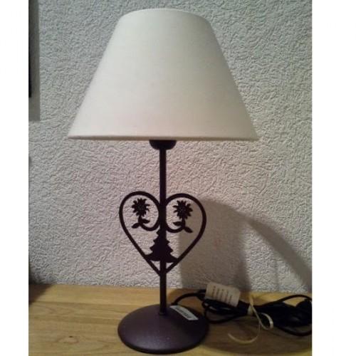 LAMPE avec coeur découpé, réf.44547MCA, J.P.Ryckaert