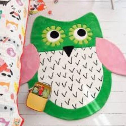 Tapis Little Owl réf.DHR173/01, dim.140x140cm, Designers Guild Kids