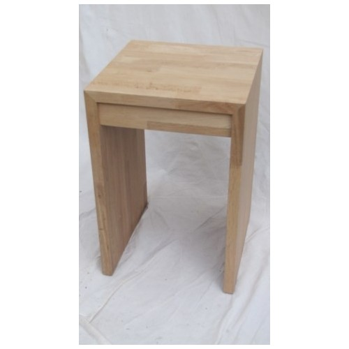 TABLE de Nuit MARK col chêne clair Haut.60 cm Larg. 40 cm  Prof.40 cm