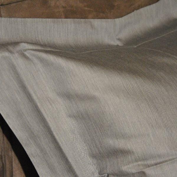 housse de couette mastro raphael unito victor 240 x 240 cm col 10b gris sty. Black Bedroom Furniture Sets. Home Design Ideas