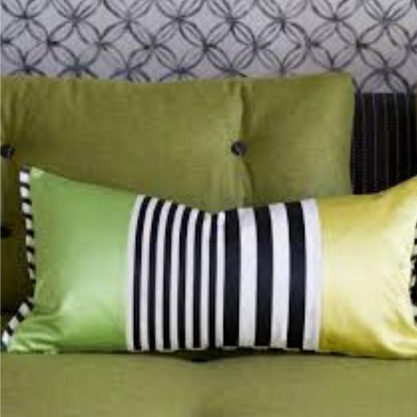 coussin DESIGNERS GUILD - TARU 30 x 60 cm lime - Styles Interiors SA
