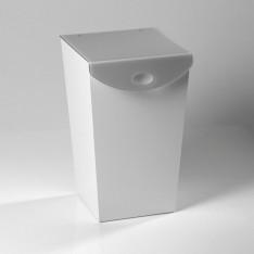 Meuble pour linge WAVE en plexi, dim. 35x38cm /Haut. 57cm, Vesta