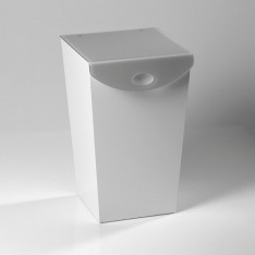 meuble pour linges en plexi VESTA - WAVE 35 x 38 /Haut. 57 cm