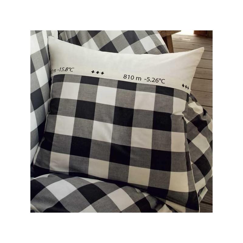 taie d 39 oreiller le grand saut sylvie thiriez styles interiors sa. Black Bedroom Furniture Sets. Home Design Ideas