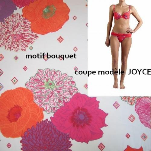BIKINI  JOYCE bouquet taille 2 (36), Manuel Canovas