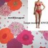 maillot de bains 2 pièces MANUEL CANOVAS - JOYCE bouquet taille 2 (36)