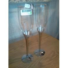 Set de 2 flûtes à champagne diamants