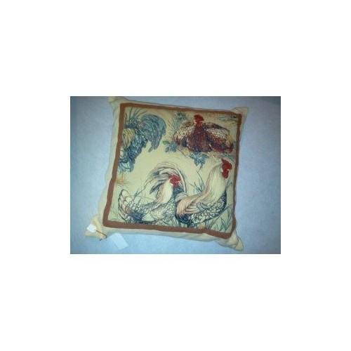 coussin PIERRE FREY - POULES PAILLE 50 x 50 cm F2198COU113002