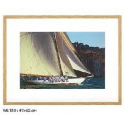 TABLEAU Voilier réf.WE135, photographie couleur, dim.47x62cm, Ablo-Bommaert