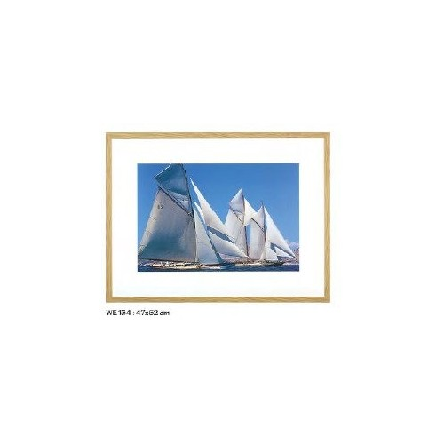 Tableau Voiliers anciens réf.PCC 080, photographie couleur, dim.60x110cm, Ablo