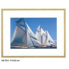 TABLEAU Voilier réf.WE134, photographie couleur, dim.47x62cm, Ablo-Bommaert