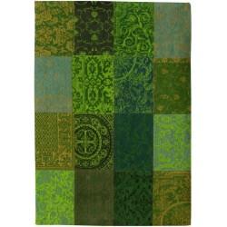 tapis DE POORTERE DECO - Vintage de 140 x 200 cm -  turquoise