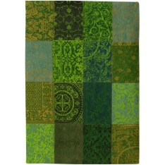TAPIS DE POORTERE DECO - Vintage de 140 x 200 cm -  vert