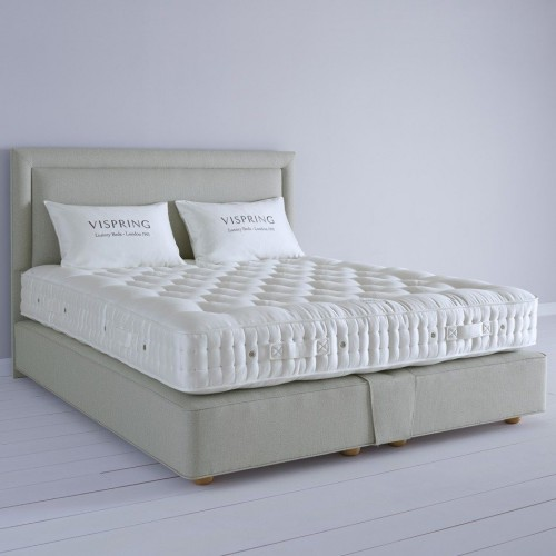 BARONET SUPERB, VISPRING. DIVAN AND MATRESS