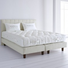 HERALD SUPERB, VISPRING. MATRESS AND DIVAN.