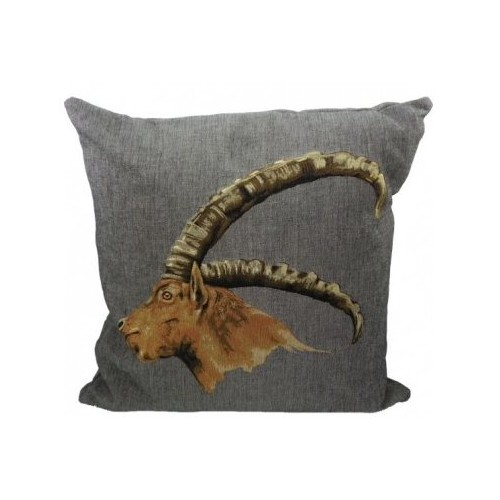 cushion with ibex 45 x 45 cm Mars & More
