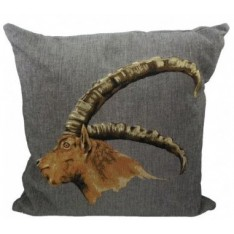 cushion with ibex 45 x 45 cm Mars & More
