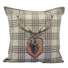 cushion with deer, 35 x 35 cm Mars & More