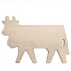 Planche en bois Vache réf.30.50.0008, dim.36.5x24x1.5cm, Steinlin