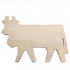 Planche en bois Vache réf.30.50.0008