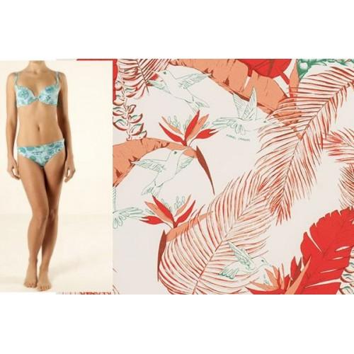 bikini Manuel Canovas JOYCE colibri blanc-orange