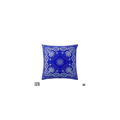 TAIE d'oreiller BANDANA bleu-blanc, dim.65 x 65 cm, Essix