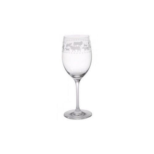 Set de 6 verres à vin La Montée à l'Alpage, 3,5dl, Steinlin