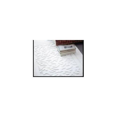 TAPIS de bains coton MASTRO RAPHAEL - CORALLI 70 x 140 cm blanc 01