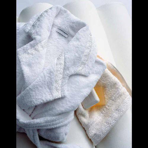 linge éponge MASTRO RAPHAEL-FRAMMENTI (set de 5 linges) col 12 blanc