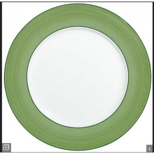 assiette RAYNAUD - PAREO VERT diam. 31 cm