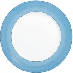 assiette à dessert RAYNAUD - PAREO bleu diam. 22,5 cm