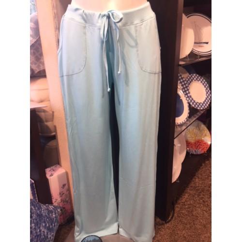 Pantalon Aubin uni col.turquoise MANUEL CANOVAS