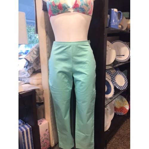 Pantalon AVA uni turquoise taille 3 (38), Manuel Canovas