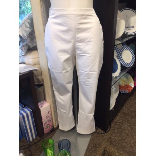 Pantalon  AVA uni blanc taille 3 (38), Manuel Canovas