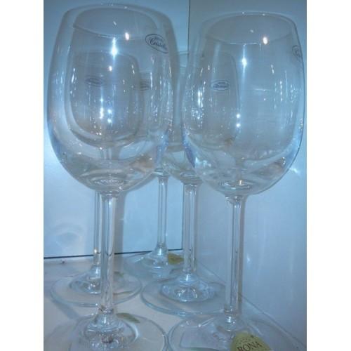 VERRES à vin blanc RONA cristallin