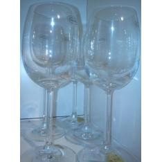 Verres à vin blanc RONA cristalle
