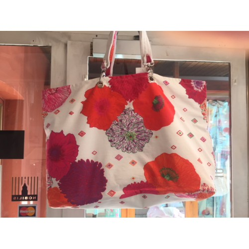 sac de plage MANUEL CANOVAS - OLIVIA  bouquet 45 x 32 cm