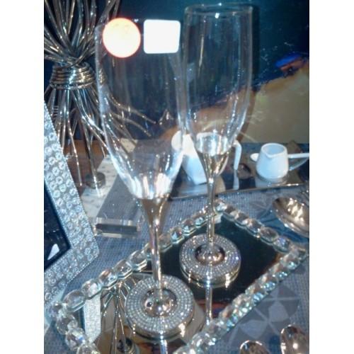 Set de 2 flûtes à champagne luxe