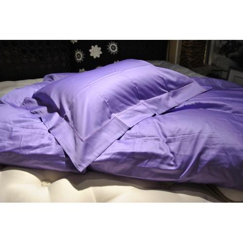 housse de couette 160 x 210 cm et 1 taie d'oreiller 65 x 65 cm MASTRO RAPHAEL-B&B col 06I violet