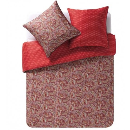 Pillow cover BANDANA col. red-white dim. 50x75 cm, Essix
