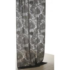 Rideau MASTRO RAPHAEL - ABERDEEN jacq. Fil coupé 200 x 260 cm col 10A grigio