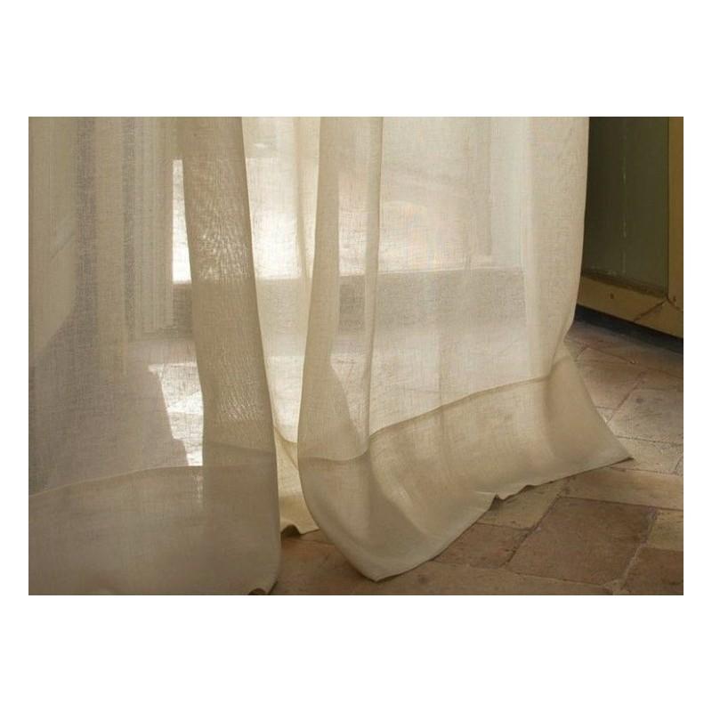 rideau MASTRO RAPHAEL-TENDA LINO UNITO 210 x 260 cm col beige 02 ...