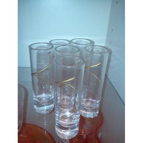 Set de 6 verres à digestif, Aulica