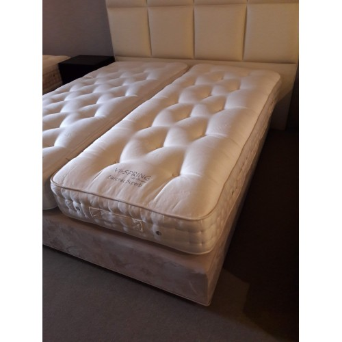 Matelas Vispring Baronet Superb 80 x 200 cm. Tension soft