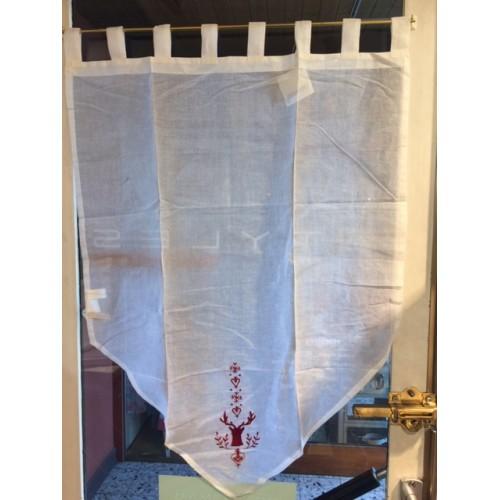 brise-bise SYLVIE THIRIEZ-HOTEL DES PISTES de 65 x 95 cm