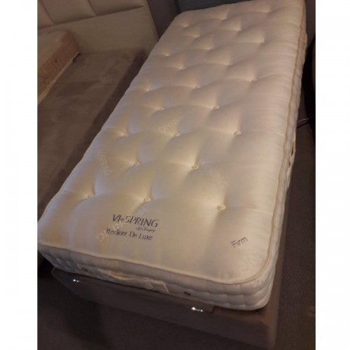 Matelas Vispring Recliner  de Luxe  100 x 200 cm. Tension FIRM