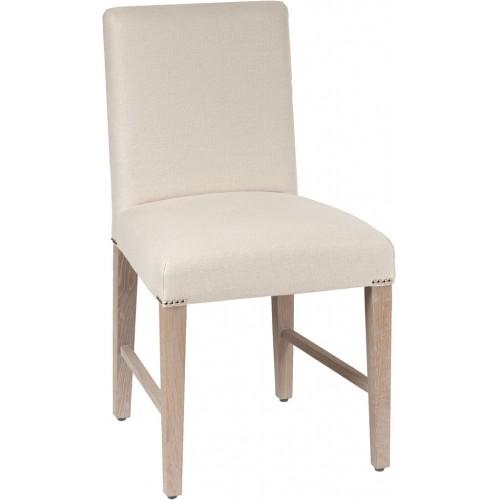 Shoreditch Dining Chair - Hugo Pale Oat - Pale Oak