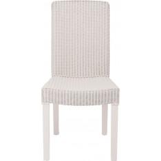 Montague Lloyd Loom Chair - Silver Birch